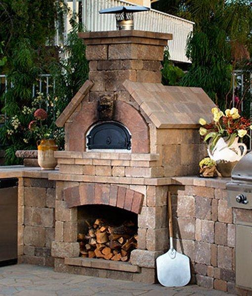 Belgard Brick Oven 1